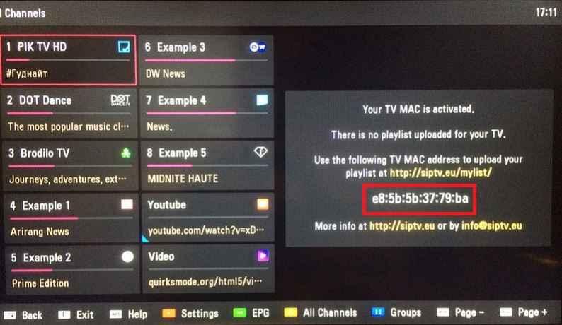 SmartIPTV iptv yükleme